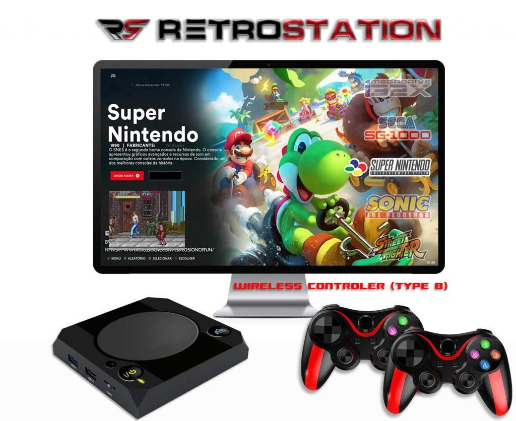 RetroStation 14 2xWireless Type B