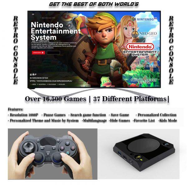 Retrostation Retro Console Features