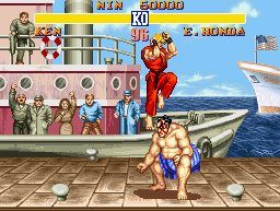 Street Fighter Retro Game Console