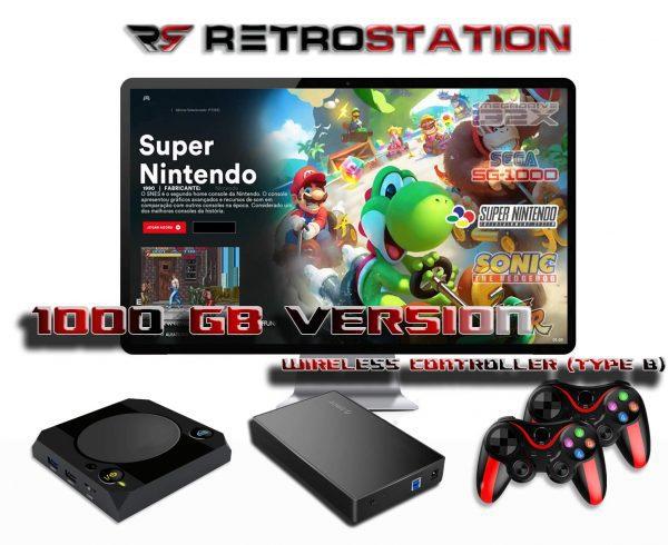 RetroStation Pro_2xWireless-Type-B-Retro-Video-Game-Console