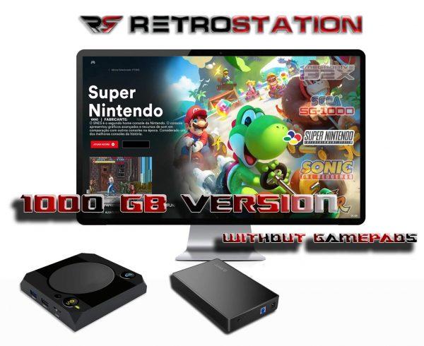 RetroStation Pro Without Gamepads_Retro Console 1TB