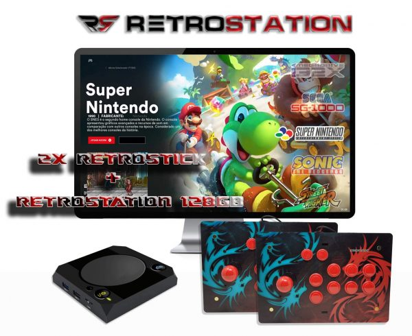 RetroStick the best Arcade Joystick