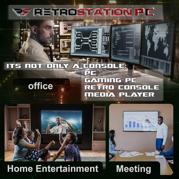 RetroStation PC Multi uses - Retro Console - PC