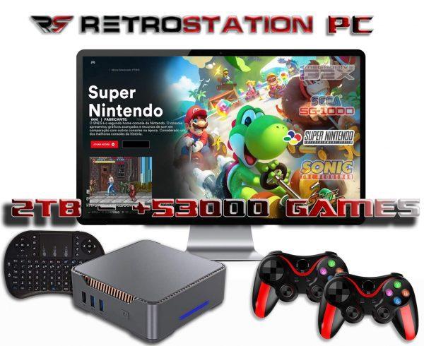 RetroStation PC full Pack - Retro Console