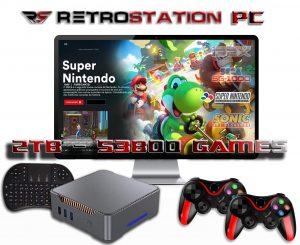 RetroStation PC 14 the best retro gaming console