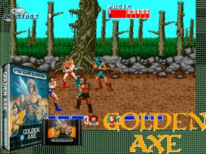 The Golden Axe - retro gaming console