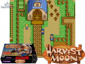 Harvest Moon - Retro Game Console
