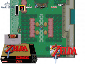 The Legend of Zelda: A Link to the Past - Retro Game Console