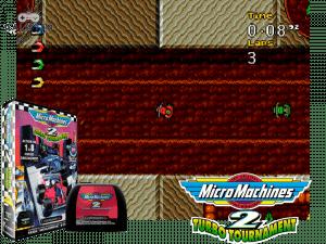 Micro Machines 2: Turbo Tournament - Mega Drive