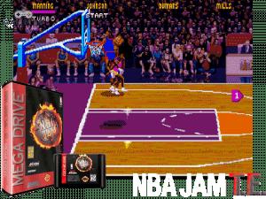 NBA Jam Tournament Edition - Mega Drive