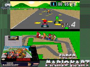 Super Mario Kart - Retro Game Console