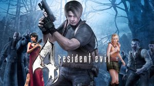 Resident Evil 4 - Retro Game Console