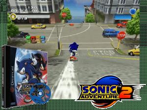 Sonic Adventure 2 - Retro Gaming Console