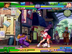 Street Fighter Alpha 3 - Retro Console