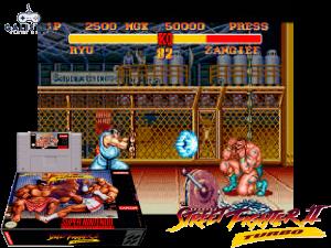 Street Fighter II Turbo - Retro Game Console