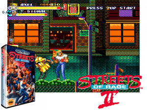retro gaming console - Streets Of Rage II