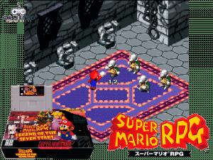 Super Mario RPG - Retro Game Console
