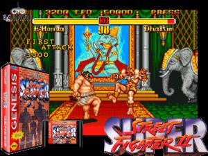Super Street Fighter II - retro gaming
