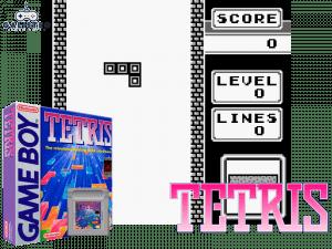 Tetris - Retro Gaming Console