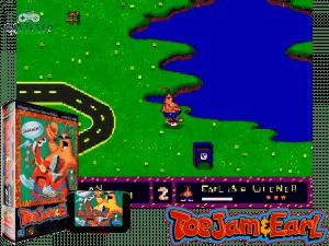 retro gaming console - Toejam & Earl 2: Panic on Funkotron