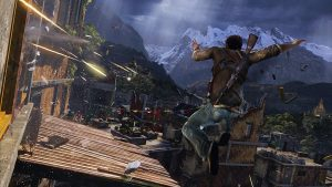 UNCHARTED 2 - RETRO GAMING CONSOLE