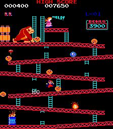 Donkey Kong - Retro Console