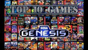 Mega Drive Top Games - Retro Gaming Console