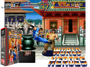 World Heroes - Retro Gaming Console
